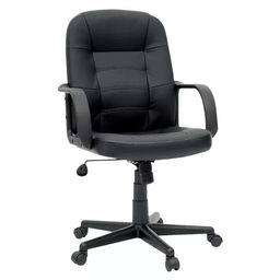 Office Chair Bonded Leather Black - Room Essentials™ | Target