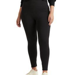 Lauren Ralph Lauren Plus-Size Stretch Jersey Legging & Reviews - Pants & Capris - Plus Sizes - Ma... | Macys (US)