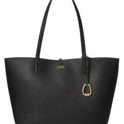 Lauren Ralph Lauren Pebble Reversible Tote & Reviews - Handbags & Accessories - Macy's | Macys (US)
