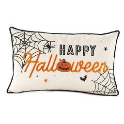 Lakeside Halloween Throw Pillow - Rectangular Accent Lumbar Cushion   Target