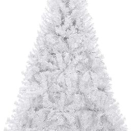 Best Choice Products 6ft Premium Hinged Artificial Holiday Christmas Pine Tree for Home, Office, ... | Amazon (US)