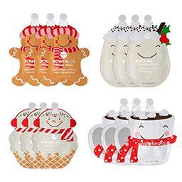 SpaLife Holiday Treats Facial Masks Christmas Masks 12 pack Assorted   Amazon (US)