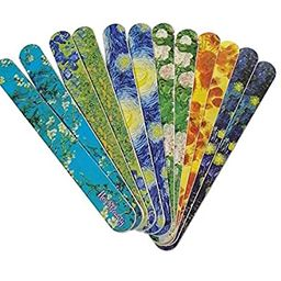 New8Beauty Emery Board Famous Art Van Gogh Starry Night (12-Pack) - Compact Nail Files - Stocking...   Amazon (US)