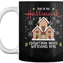 Christmas Movie Watching Mug Gift - This Is My Gift Coffee Mug   Amazon (US)