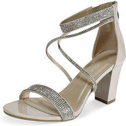 TOP Moda Dressy/Formal Sandals High Heel Ankle Strap Open Toe Sandals   Amazon (US)