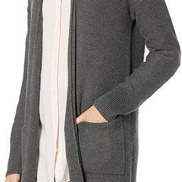 Amazon Brand - Goodthreads Women's Everyday Soft Blend Honeycomb Long Line Cardigan Sweater   Amazon (US)