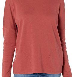 Daily Ritual Women's Pima Cotton and Modal Interlock Pocket Pullover Shirt | Amazon (US)
