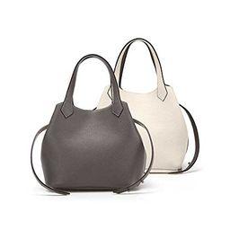 Palla Women's A-Bag Plus (REVERSIBLE) Mochagray-Ivory, Large | Amazon (US)