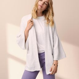 Lou & Grey Bell Sleeve Pocket Cardigan | LOFT