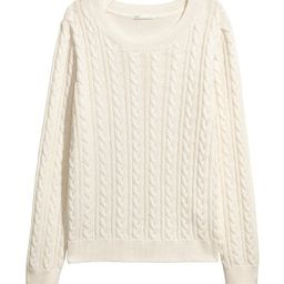 H&M Cable-knit Sweater $17.99 | H&M (US)