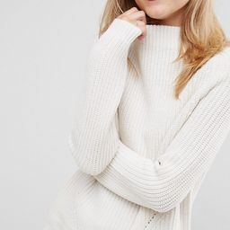 ASOS Ultimate Chunky Sweater With Slouchy High Neck | ASOS US