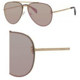 Sunglasses Celine 41392 /S 0J5G Gold / 0J gray rose gold lens | Walmart (US)