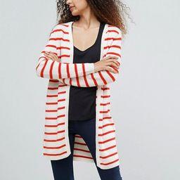 Ichi Stripe Cardigan   ASOS US