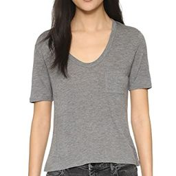 Classic Cropped Tee   Shopbop