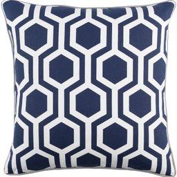 Antonia Geometric Square Woven Cotton Throw Pillow Cover | Wayfair North America