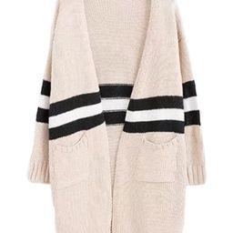 'Estrella' Stripe Colorblock Cardigan   Goodnight Macaroon