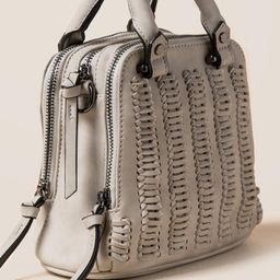 Elle Whipstitched Distressed Mini Satchel | Francesca's Collections