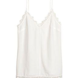 H&M Crêped Camisole Top $17.99   H&M (US)