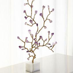 Amethyst Branch Sculpture | Neiman Marcus