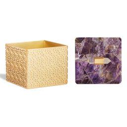 Square Filigree Stone Box | Nordstrom