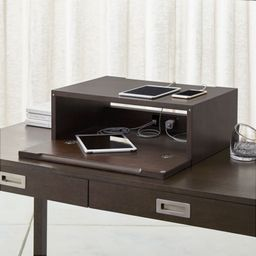 Aspect Coffee Charging Station with Power | Crate & Barrel