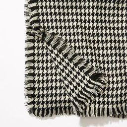 Houndstooth Blanket Scarf | LOFT
