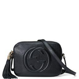 Soho Leather Disco Bag, Black | Neiman Marcus