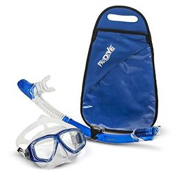 ProDive Premium Dry Top Snorkel Set - Impact Resistant Tempered Glass Diving Mask, Watertight and An   Amazon (US)