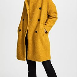 Double Breasted Boucle Coat | Shopbop