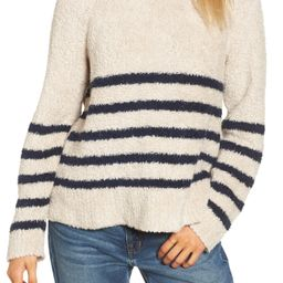 Mariner Stripe Turtleneck Sweater | Nordstrom