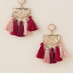 Brea Multi Colored Tassel Earrings | Francesca's Collections