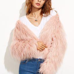 Faux Fur Coat | SHEIN