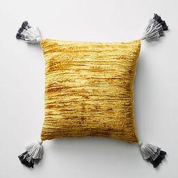 Tasseled Velvet Pillow   Anthropologie (US)