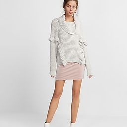 Who What Wear Pick Oversized Ruffle Cowl Neck Sweater | Express