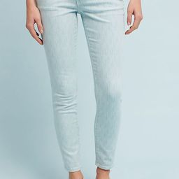 Pilcro Mid-Rise Skinny Ankle Jeans | Anthropologie (US)