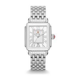 Deco Madison, Diamond Dial Watch | Michele Watches