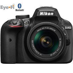 Nikon D3400 Digital SLR Camera & 18-55mm VR DX AF-P Zoom Lens (Black) - (Certified Refurbished) | Amazon (US)