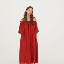 H&M Off-the-shoulder Dress $49.99   H&M (US)