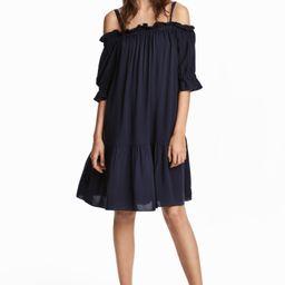 H&M Open-shoulder Dress $29.99   H&M (US)