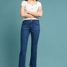 Pilcro High-Rise Cropped Bootcut Jeans | Anthropologie (US)