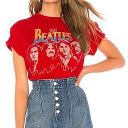 Junk Food The Beatles Tee in Red | Revolve Clothing (Global)