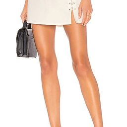 by the way. Lani Lace Up Skirt in White | Revolve Clothing (Global)