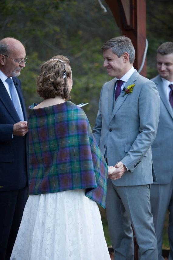 Enchanting + Foggy Isle of Skye Wedding in Scotland - Green Wedding ...