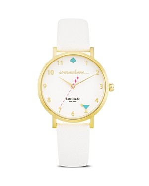 kate spade new york It's 5 O'Clock Somewhere Watch, 34mm