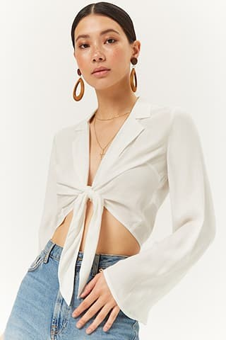 knotted tie front top