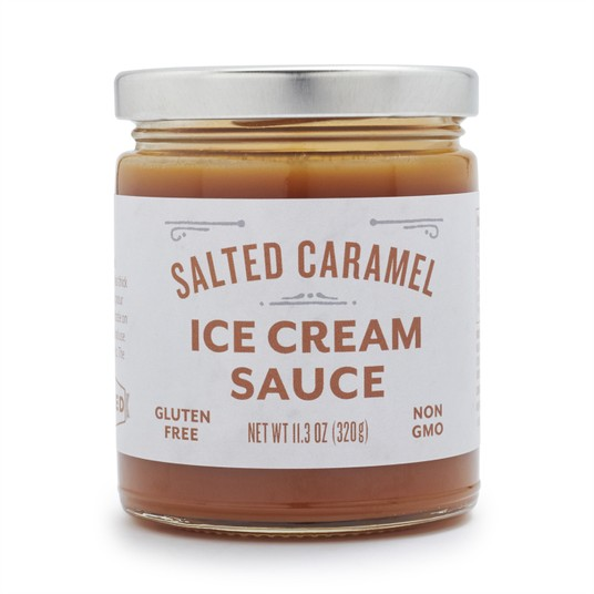 Salted Caramel Ice Cream Sauce