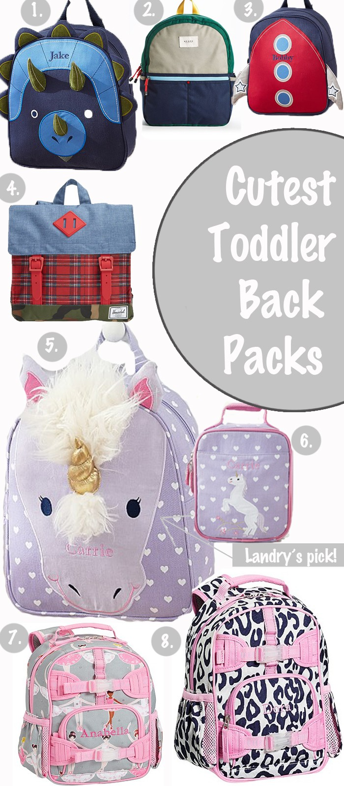 backpacks, toddler, pottery barn kids, toddler backpack