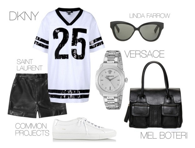 End Of Summer Style: How To Make It All Black & White | Sporty Outfits | Mel Boteri
