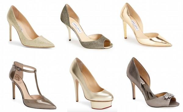 Best Holiday Gift Guide Gold Gift Guide Hostess Gifts Holiday hostess gifts gold pump gold heel sale The Supper Model