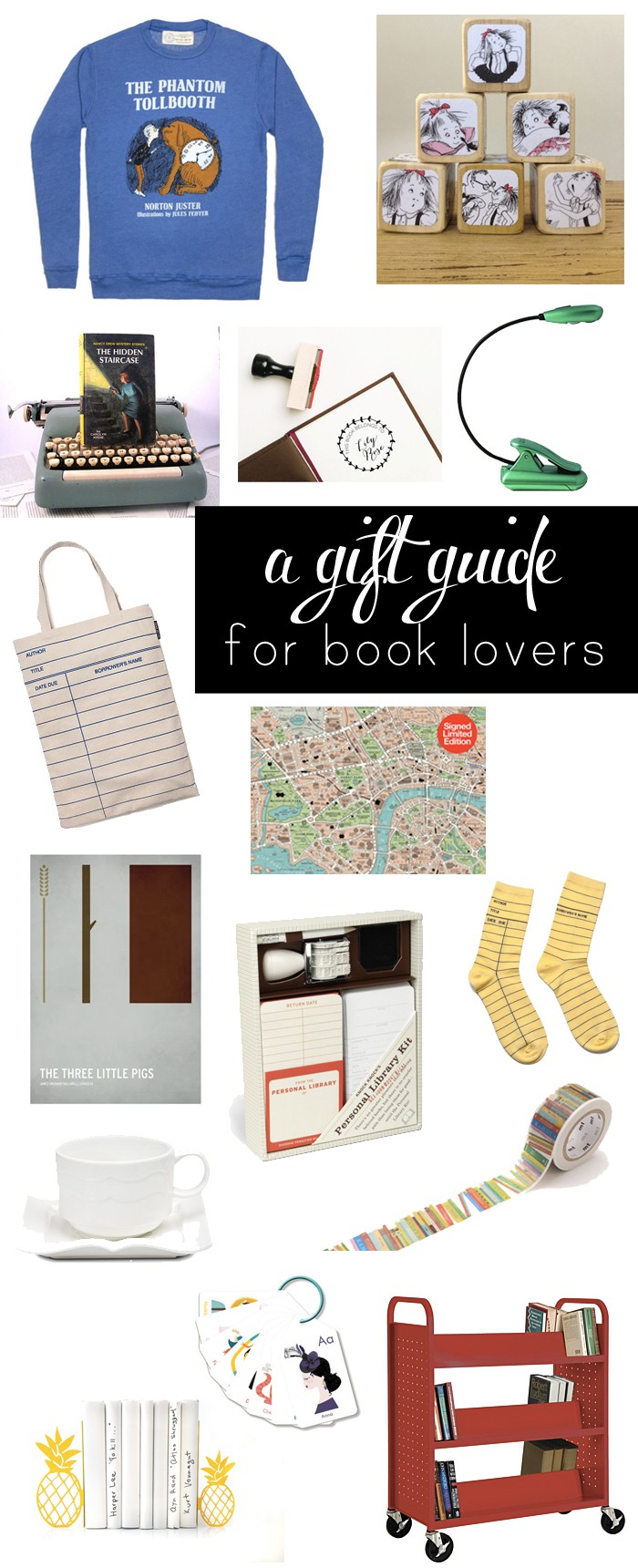 Have a book lover in your life but afraid of buying them a book they already own? Try one of these awesome gifts instead.
